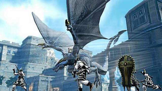 You'll take control of Mikhail, Zero's dragon, during flying sections of Drakengard 3.