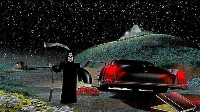 Grim Fandango Remastered features a new graphic setting with improved lighting and textures, which can be toggled on and off with a button press.